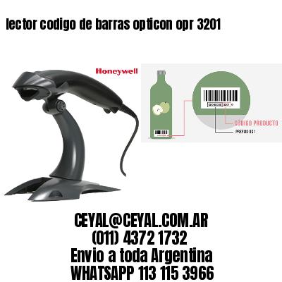 lector codigo de barras opticon opr 3201