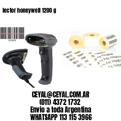 lector honeywell 1200 g