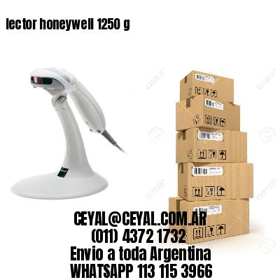 lector honeywell 1250 g