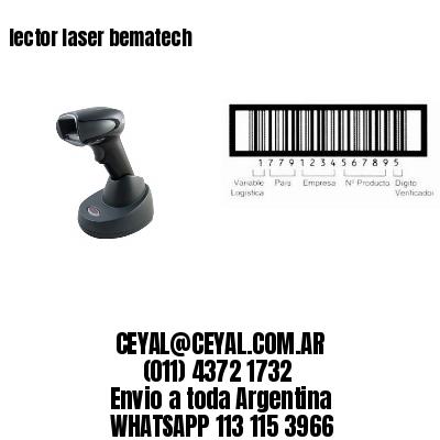 lector laser bematech