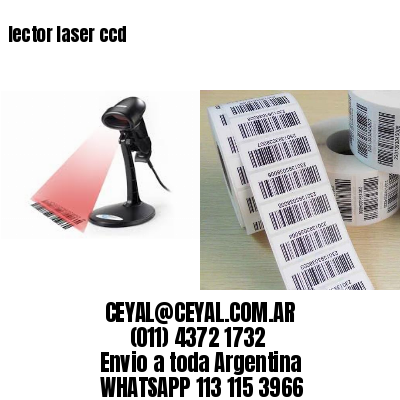 lector laser ccd