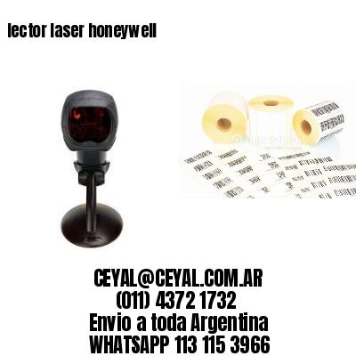 lector laser honeywell