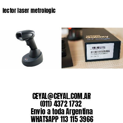 lector laser metrologic
