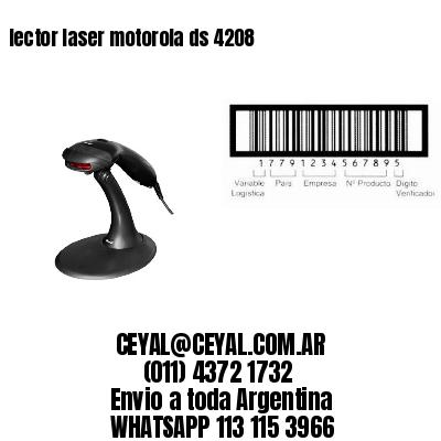 lector laser motorola ds 4208