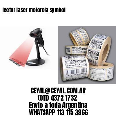 lector laser motorola symbol