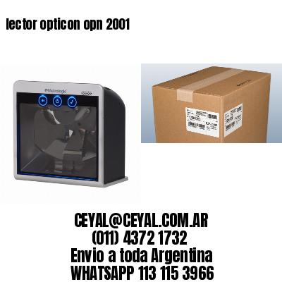 lector opticon opn 2001