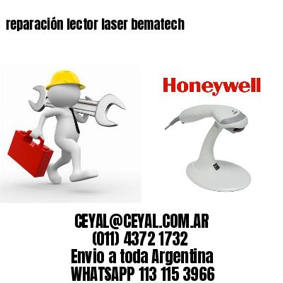 reparación lector laser bematech