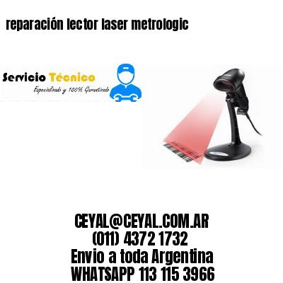 reparación lector laser metrologic
