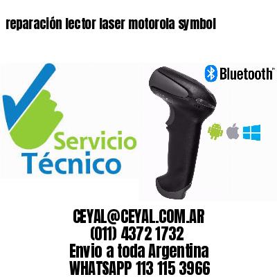 reparación lector laser motorola symbol