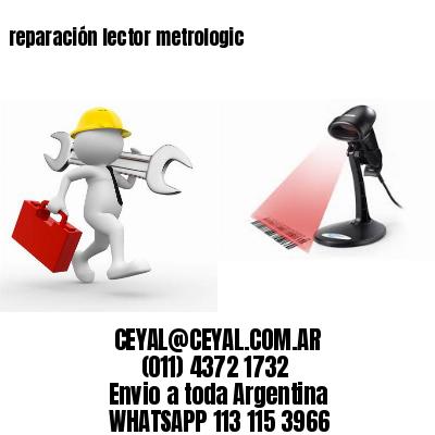 reparación lector metrologic
