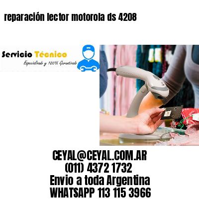 reparación lector motorola ds 4208