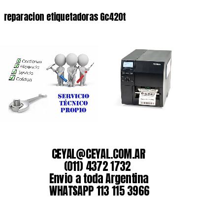 reparacion etiquetadoras Gc420t