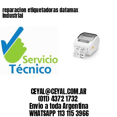 reparacion etiquetadoras datamax industrial