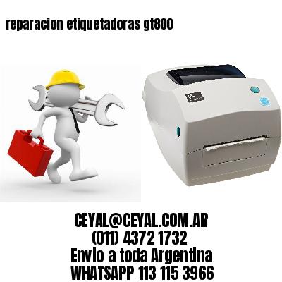 reparacion etiquetadoras gt800