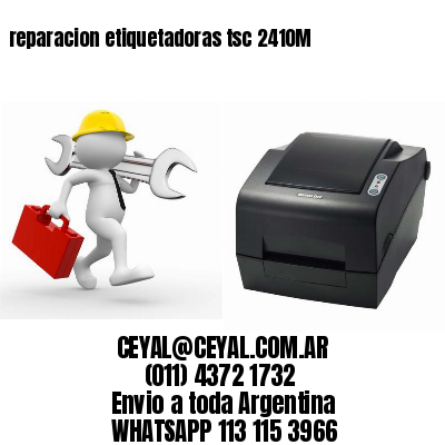 reparacion etiquetadoras tsc 2410M