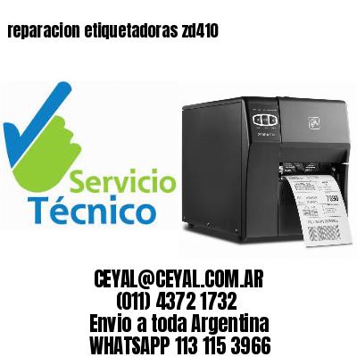reparacion etiquetadoras zd410
