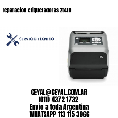 reparacion etiquetadoras zt410