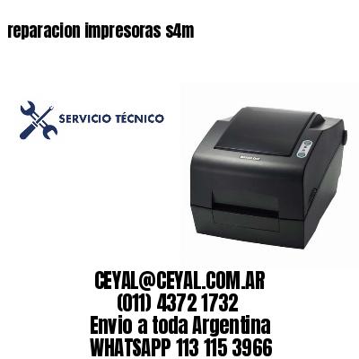 reparacion impresoras s4m