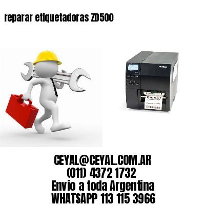 reparar etiquetadoras ZD500