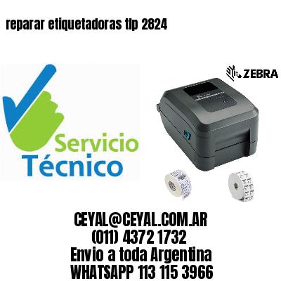 reparar etiquetadoras tlp 2824