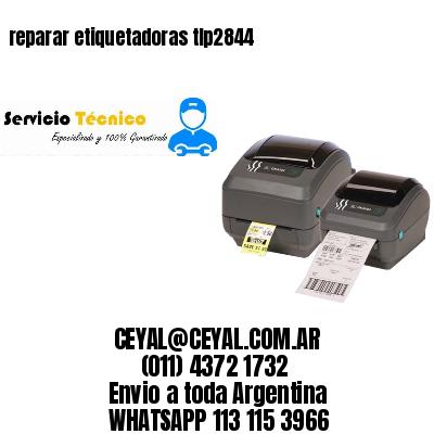 reparar etiquetadoras tlp2844