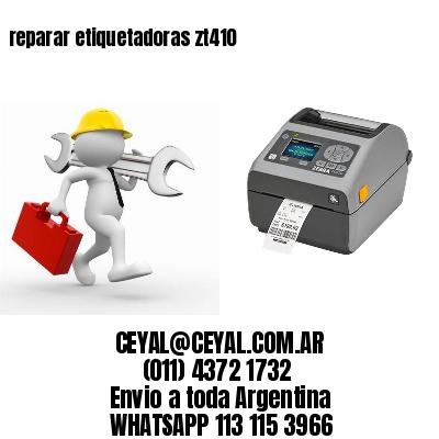 reparar etiquetadoras zt410
