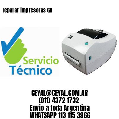 reparar impresoras GX