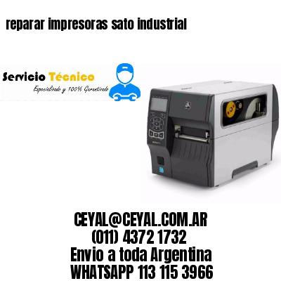 reparar impresoras sato industrial