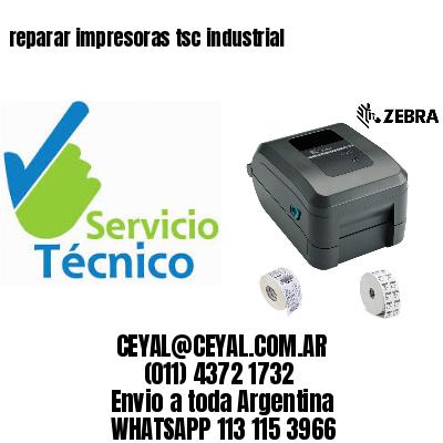reparar impresoras tsc industrial