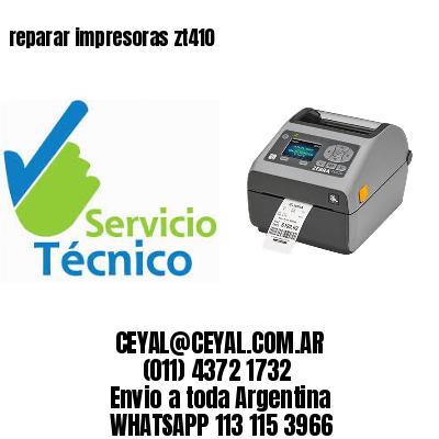 reparar impresoras zt410