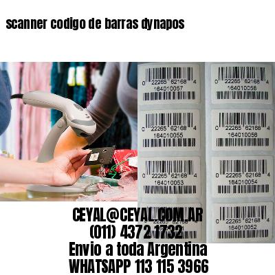 scanner codigo de barras dynapos