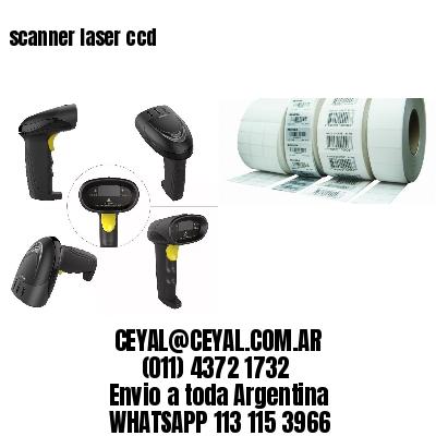 scanner laser ccd
