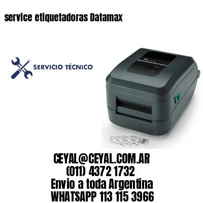 service etiquetadoras Datamax