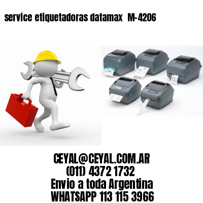 service etiquetadoras datamax  M-4206