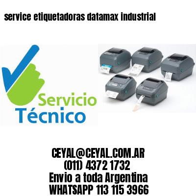service etiquetadoras datamax industrial