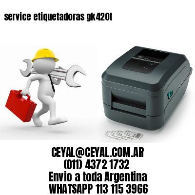 service etiquetadoras gk420t