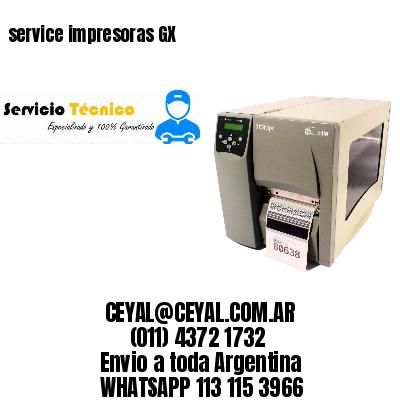 service impresoras GX