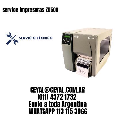 service impresoras ZD500
