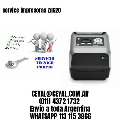service impresoras Zd620