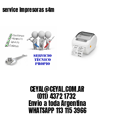 service impresoras s4m