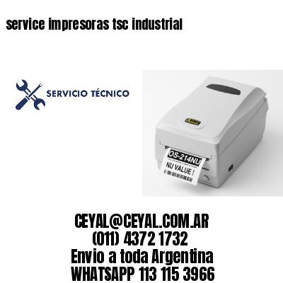 service impresoras tsc industrial