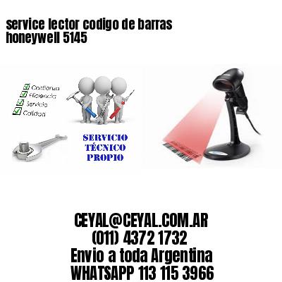 service lector codigo de barras honeywell 5145