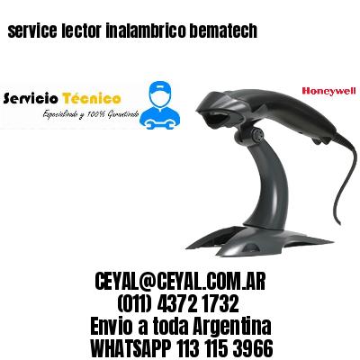 service lector inalambrico bematech