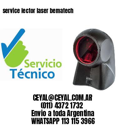 service lector laser bematech