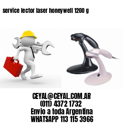 service lector laser honeywell 1200 g