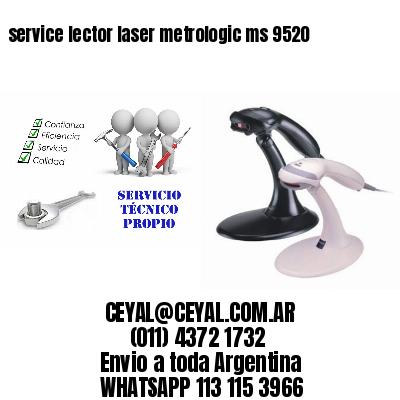 service lector laser metrologic ms 9520