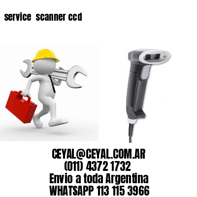 service  scanner ccd