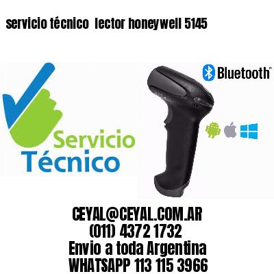 servicio técnico  lector honeywell 5145