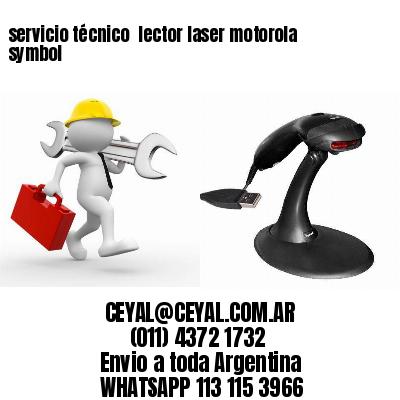 servicio técnico  lector laser motorola symbol