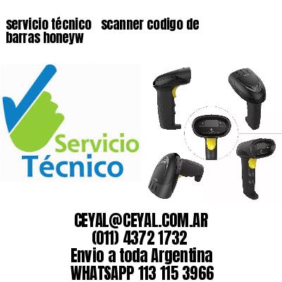 servicio técnico   scanner codigo de barras honeyw